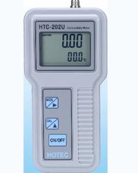手提式微电脑导电度/温度计(HTC-202U)