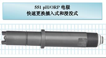 551 pH/ORP 電極快速更換插入式和浸沒式