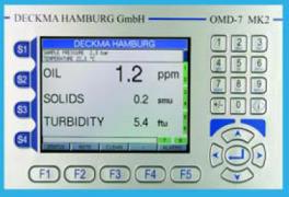 在線多功能水中油份及懸浮固體監測儀OMD-7 MK Ⅱ